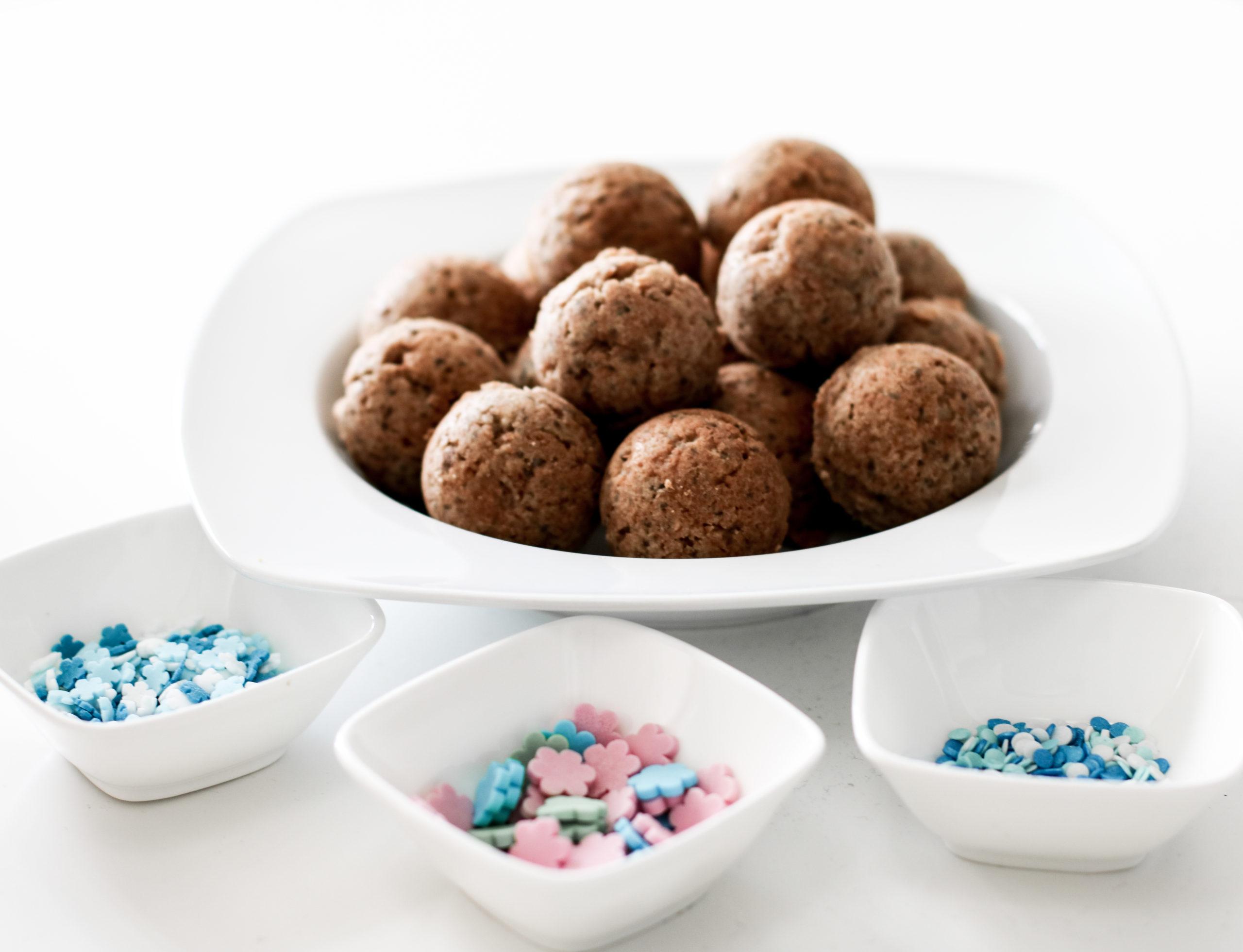 Gesunde, vegane Cakepops und Kuchen für den Kindergeburtstag
