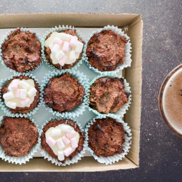 Zuckerfreie und vegane Muffins für Kinder